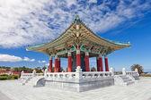Korean Bell of Friendship pagoda in San Pedro — Stock Photo