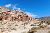 Red rock canyon v slunečný den — Stock fotografie