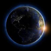 America globe — Stock Photo