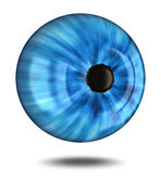 3d blue eye — Stock Photo