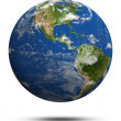 Постер, плакат: Planet Earth 3d render
