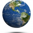 Stock Photo: Planet Earth 3d render