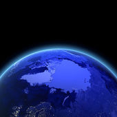 Arctic 3d render — Stock Photo