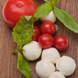 mozzarella — Stockfoto