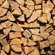 Firewood texture — Stock Photo