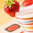 Strawberry dessert — Stock Photo