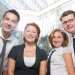 Happy office workers — Stock Photo #5888465