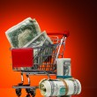 Stock Photo: Market cart