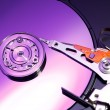 Closeup image of hdd drive. - Stock Photo