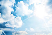 Heaven sky — Stock Photo
