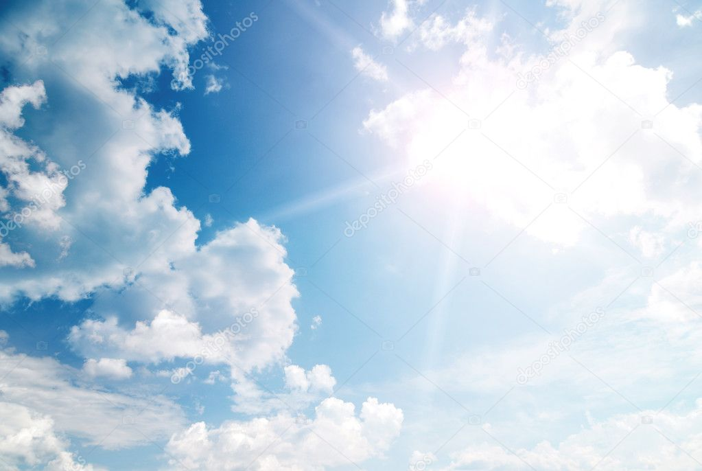 Heaven sky — Stock Photo #5661172