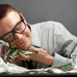 Man with money — Stock Photo #5872809