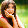 Portrait of beautiful girl — Stockfoto