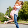 Kissing couple — Stock Photo #6315456