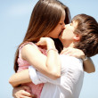 Kissing couple — Stock Photo #6315458
