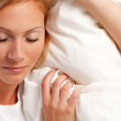 Young woman in bed. — Stock Photo #6482153