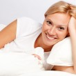Young woman in bed. — Stock Photo #6482156