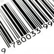 código de barras — Foto Stock