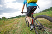Mountainbiker — Stock Photo