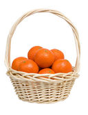 Basket with tangerines. — Stock Photo