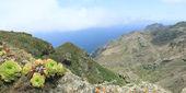 El paisaje en el parque nacional de anaga — Foto de Stock