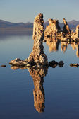 Ancient lake in a crater volcano — Stock fotografie