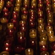 Candles in memory about died — Stock Photo #5977393