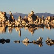 Magic sunset on Mono lake - Stock Photo