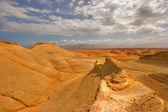 Oranžový poušť. — Stock fotografie