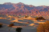 A place in Death Valley - Mesquete Flat — Stock Photo