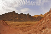 Black canyon — Stock Photo