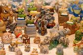 Porcelain zoo — Stock Photo