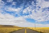9 月にアメリカの草原 — ストック写真