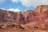 Röda sten öken — Stockfoto