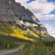 Mountain road in the autumn. — Stock Photo #6008735