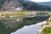 Herfst water — Stockfoto