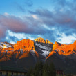 Mountain reserve Banff — Stock Photo