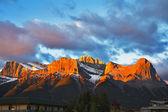 Montagna riserva banff — Foto Stock