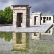 The Egyptian temple Debod — Stock Photo
