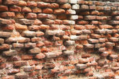 Wall of an old bricklaying — Stock Photo