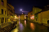 Small French town Annecy — Foto Stock