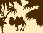 Camel — Stock Vector