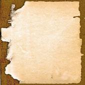 Rama od starego papieru — Zdjęcie stockowe