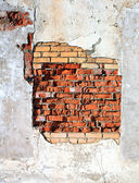 Aging brick wall — Stock Photo