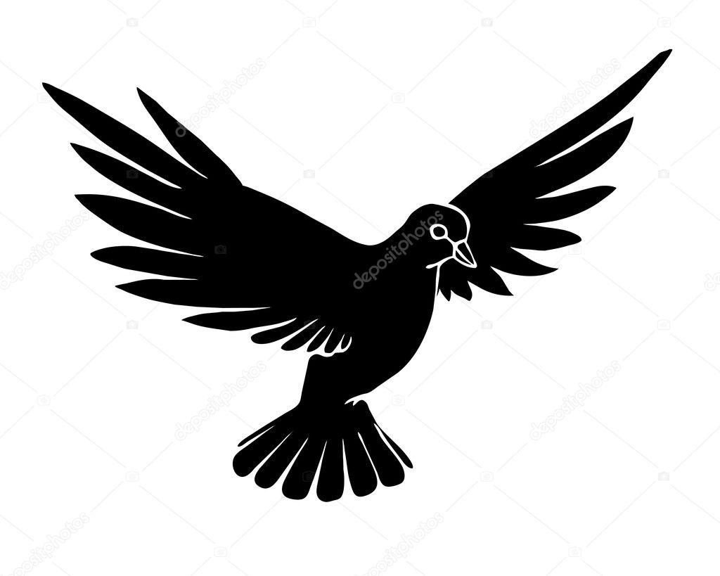 Dove silhouette tattoo designs - messe-portal info