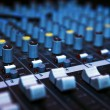 Music mixer desk — Stock Photo #6714527