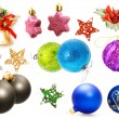 Royalty-Free Stock Photo: Christmas decorations set.