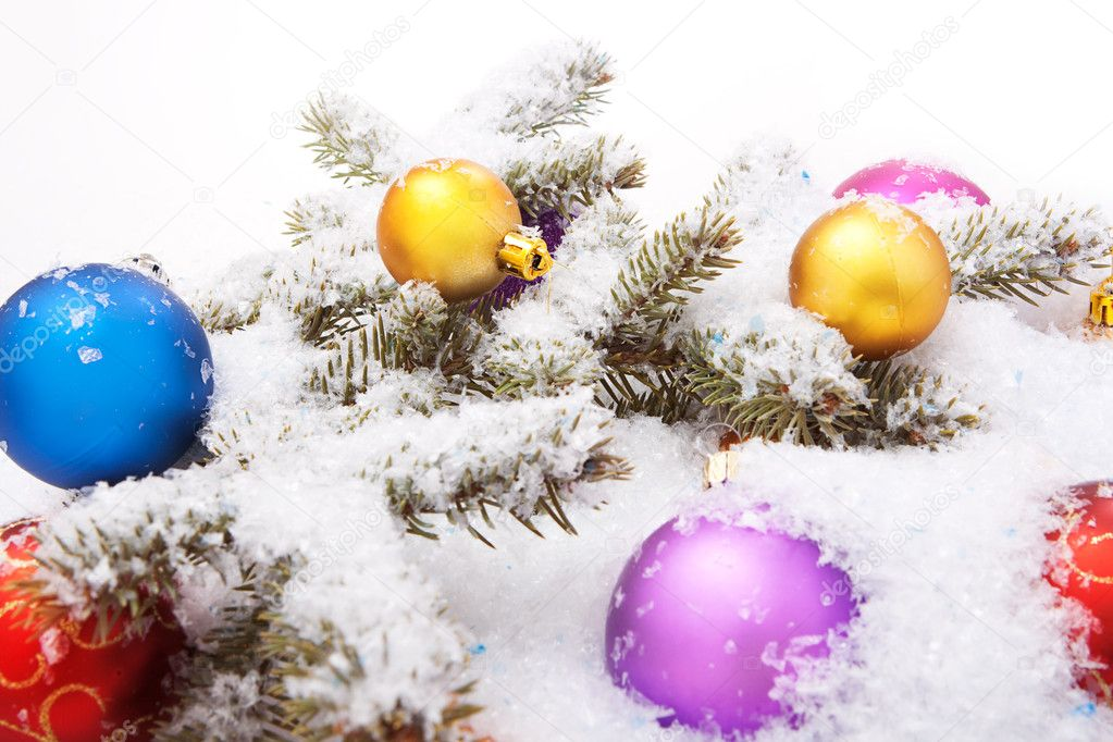 Christmas decoration. — Stock Photo #6716019