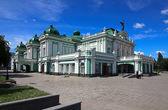 Drama Theatre. Omsk. — Stock Photo
