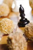Chess cake — Stock Photo